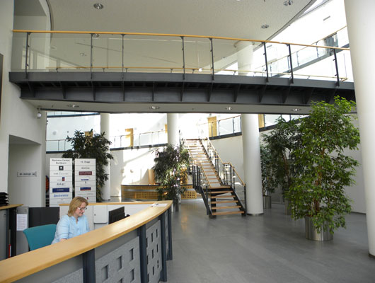 Premium Business Center Eschborn Reception